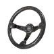 Stealth Carbon Forged Bomber Steering Wheel